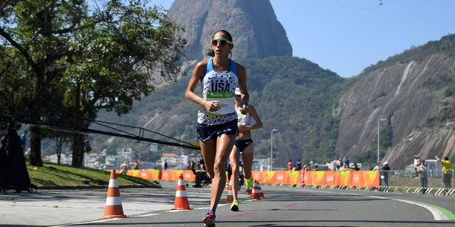 Desiree Linden finished in 7th place in the 2016 Olympic Games.