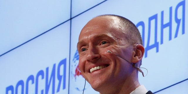 Carter Page was an adviser to Donald Trump when he was just a presidential candidate.