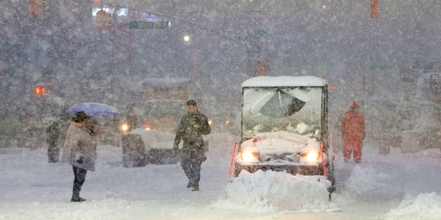 The Farmers' Almanac says in its winter outlook that the big cities in the Northeast could see a blizzard during the second week of February.