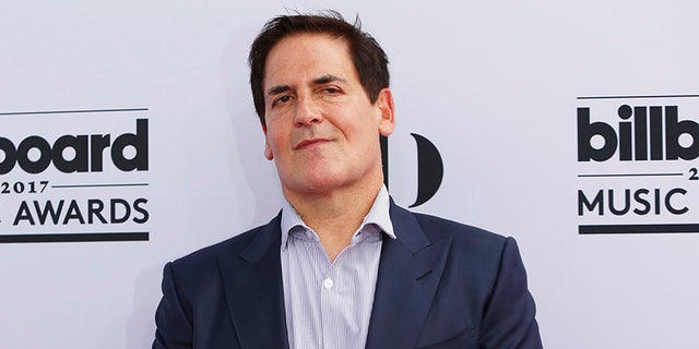 """Shark Tank"" star Mark Cuban attends the 2017 Billboard Music Awards in Las Vegas."