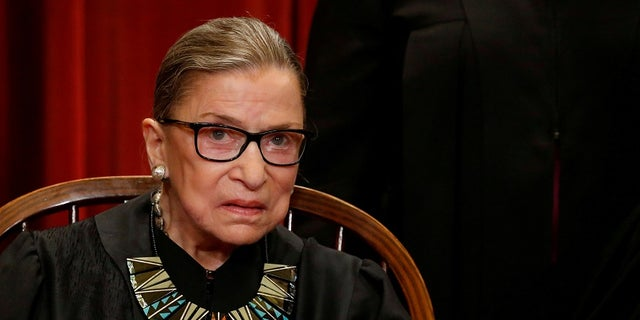 Justice Ruth Bader Ginsburg is only the second woman to sit on the Supreme Court.