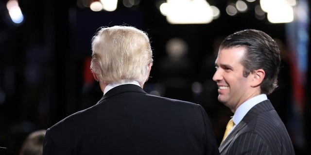 Donald Trump Jr., the president's oldest son, took a meeting with a Russian lawyer during the campaign. She was supposed to have damning information about Hillary Clinton.