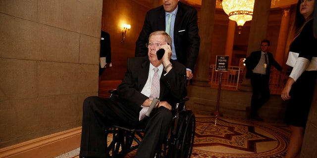 Sen. Johnny Isakson, R-Ga., is the chairman of the Senate Ethics Committee.