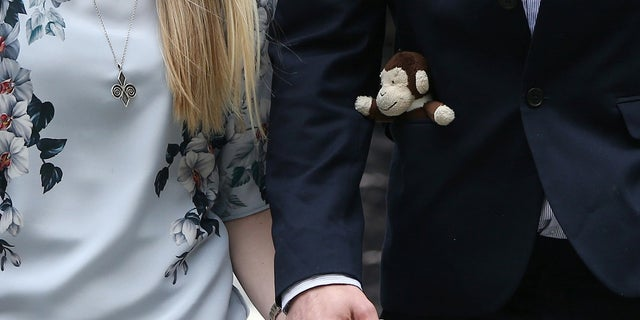 """Charlie Gard will be buried with his """"beloved"""" toy monkeys, his parents told the Sun."""