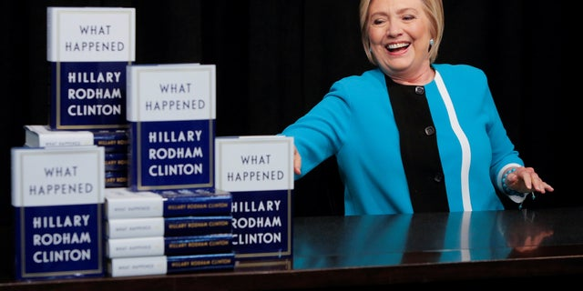 "While promoting her book, ""What Happened,"" former Democratic presidential nominee Hillary Clinton said President Trump ""wants to be like"" Russian President Vladimir Putin."