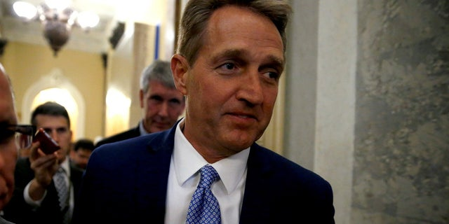Sen. Jeff Flake, R-Ariz., has stood at odds with President Trump, especially since he announced his retirement from Congress.