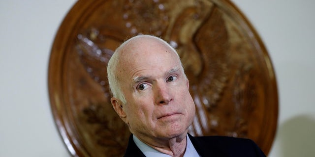 Sen. John McCain, R-Ariz., praised the Senate Finance Committee for passing the tax measure through the use of regular order.