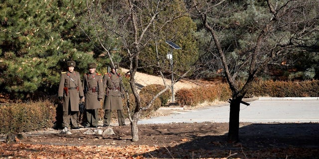 North Korean soldiers have been reportedly been replaced with a brand new security force after the Nov. 13 incident.