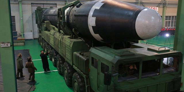 North Korea released photos showing the regime's newest ICBM, which the country said was much larger than its predecessor.