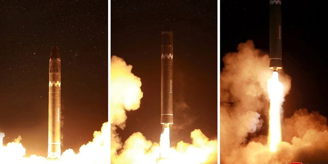 """North Korea launched the Hwasong-15 last Wednesday, a missile it dubbed the """"greatest ICBM."""""""