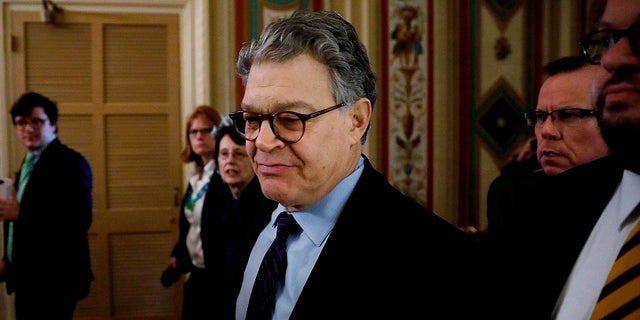 Sen. Al Franken, D-Minn., resigned in 2018 after multiple women accused him of sexual misconduct.