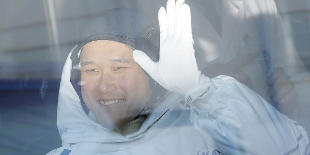 Norishige Kanai said he actually grown only two centimeters since being in space for a month.