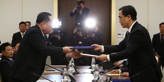 Delegations from the North and the South met last week for the first time in more than two years.