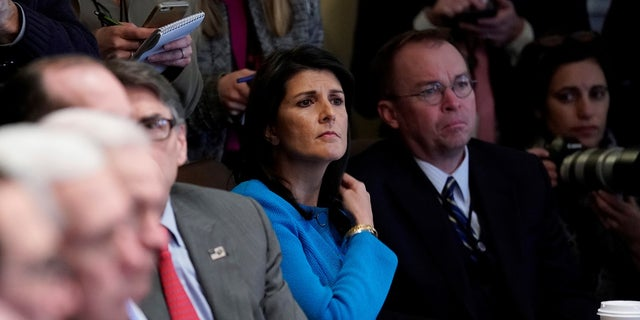 Before heading the OMB, Mick Mulvaney represented South Carolina in Congress. UN Ambassador Nikki Haley was also formerly South Carolina's governor.