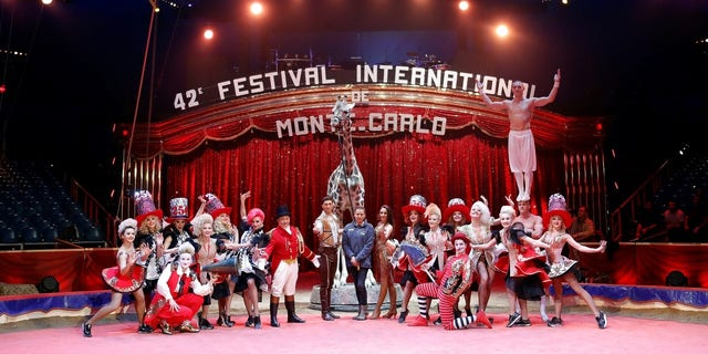 Princess Stephanie is the President of the Festival International du Cirque de Monte-Carlo.