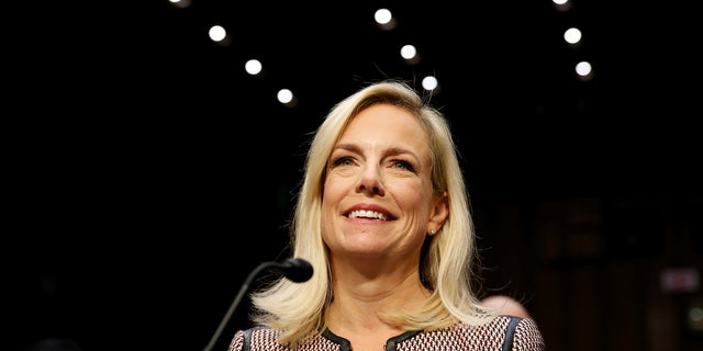Kirstjen Nielsen is the first former Department of Homeland Security employee to become its secretary.