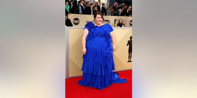 Chrissy Metz said she was forced to do weigh-ins as a teenager.