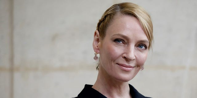 Uma Thurman said she hopes Harvey Weinstein gets his day in court.
