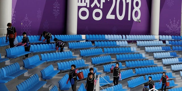 The norovirus outbreak was reported just days before the opening ceremony of the Pyeongchang Winter Olympics.