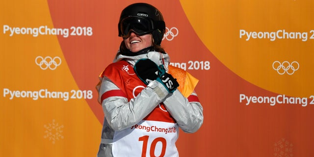 Despite a dislocated shoulder, snowboarder Arielle Gold came in third place in the women's halfpipe snowboard competition in the Winter Games.