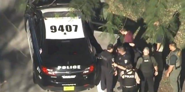Nikolas Cruz was taken into custody after stopping at a Walmart, Subway and McDonald's.