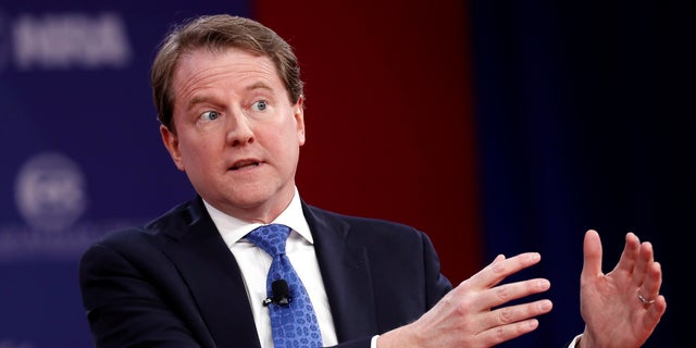 Don McGahn was appointed White House counsel in November 2016.