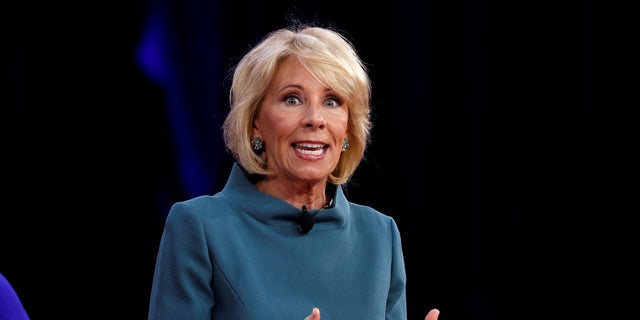 Betsy DeVos assumed the office of secretary of the Department of Education in February 2017.