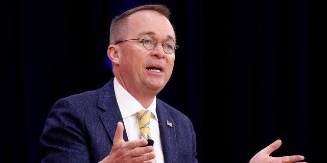 Mick Mulvaney is serving as the acting White House chief of staff.