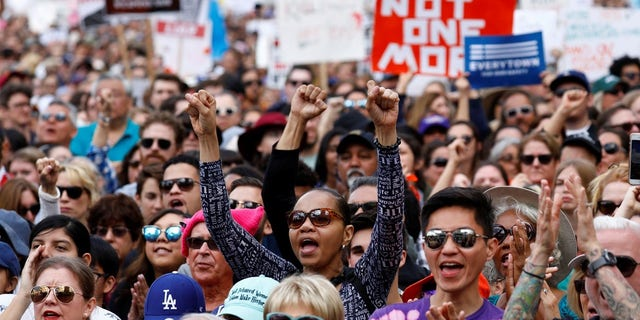 Hundreds of thousands of people around the world participated in the March for Our Lives on Saturday.