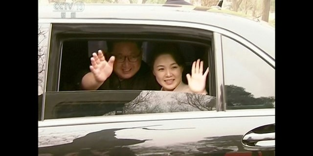 Kim Jong Un and his wife Ri Sol Ju visited Beijing last week in a surprise meeting.