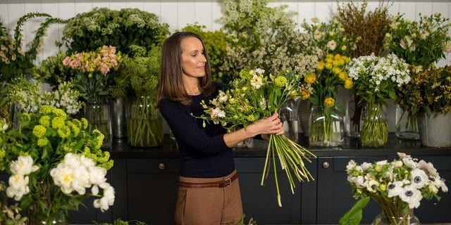 Philippa Craddock will be creating the floral designs for the royal wedding.
