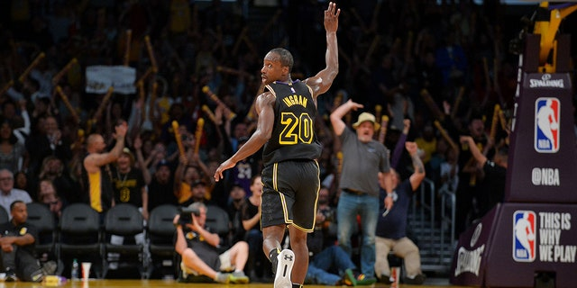 The sellout crowd moved from charitable support to full-throated roars as Andre Ingram continued to score in his NBA debut.