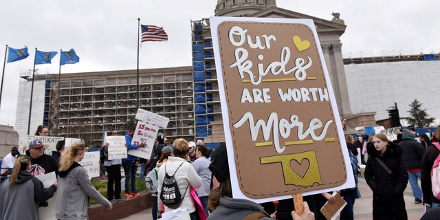 The Oklahoma teachers union is demanding a $10,000 raise for teachers over the next three years as well as a $5,000 pay increase for other school officials.