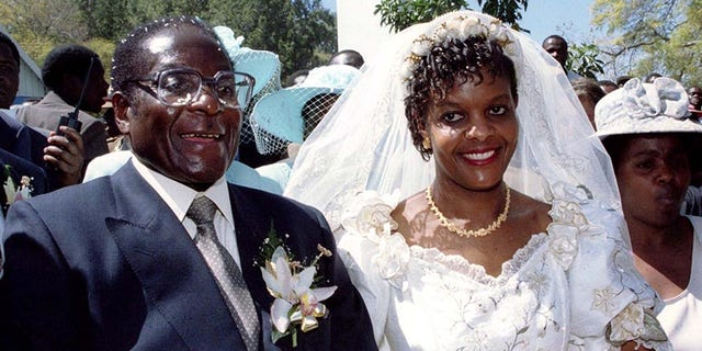 The extravagant wedding of Robert and Grace Mugabe in 1996 came after they had an affair while both were still married to other people.
