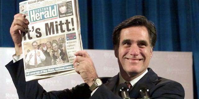 Mitt Romney became Massachusetts's governor in 2003.