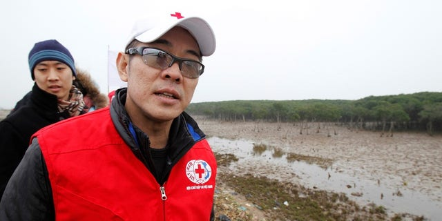 Jet Li, Goodwill Ambassador for the International Federation of the Red Cross and Red Crescent Societies, in 2011. He was diagnosed with hyperthyroidism in 2010.