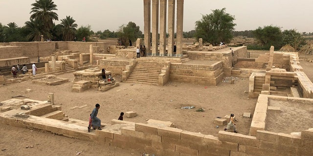 The ancient temple believed to have once housed the Queen of Sheba.