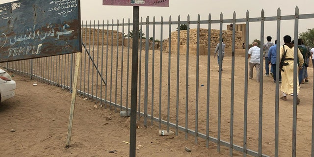 Remnants of the Sheba dynasty in Yemen.
