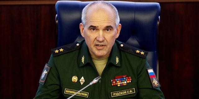 Col. Gen. Sergei Rudskoi of the Russian military's General Staff.