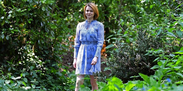 Yulia Skripal during an interview in London, Wednesday May 23, 2018. Yulia Skripal says recovery has been slow and painful, in first interview since nerve agent poisoning.