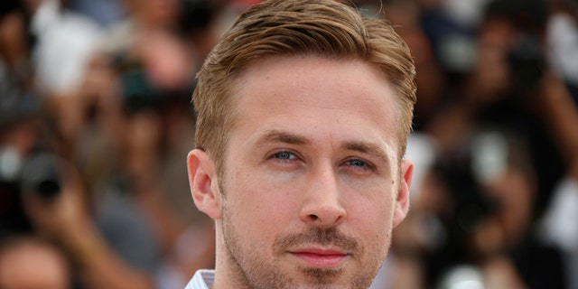 """May 20, 2014. Director Ryan Gosling poses during a photocall for the film """"Lost River"""" in at the 67th Cannes Film Festival in Cannes."""