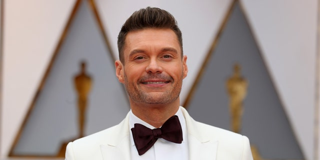 Ryan Seacrest donned a Time's Up bracelet during the 2019Golden Globe Awards, despite being accused of sexual harassment in 2018.
