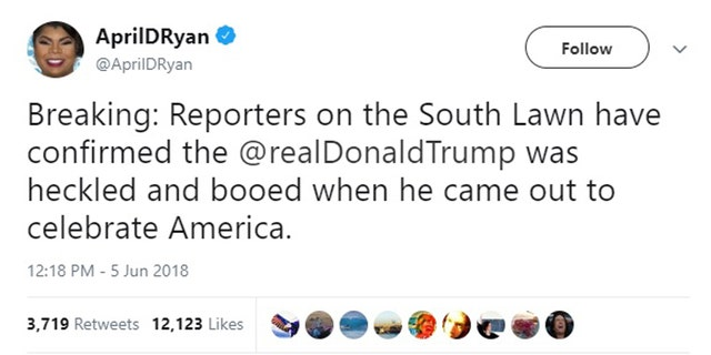 Ryan's since deleted tweet.