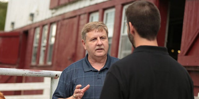 Republican candidate Rick Saccone. President Trump is scheduled to campaign in the district Saturday for Saccone, with voters going to the polls Tuesday.