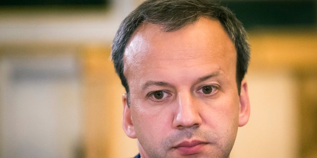 Deputy Prime Minister Arkady Dvorkovich attends Russia-China talks at the St. Petersburg International Investment Forum in St.Petersburg, Russia.