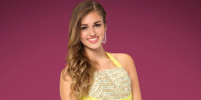 "Sadie Robertson in a promotional photo for ""Dancing With the Stars."""