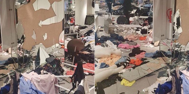 "A spokesman for the Economic Freedom Fighters, a South African revolutionary socialist political party, praised the violence, saying the retailer was ""facing the consequences for its racism."""