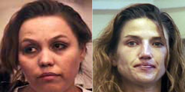 West Mesa murder victims Evelyn Salazar, left, and Cinnamon Elks.