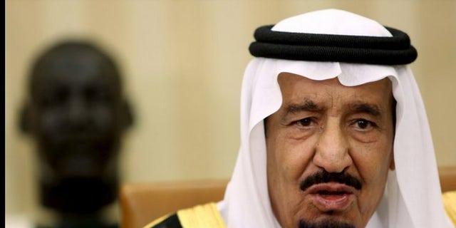 Saudi King Salman is mistrustful of Iran.
