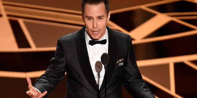 """Sam Rockwell took home the Oscar for best supporting role for his part in """"Three Billboards outside Ebbing, Missouri."""""""